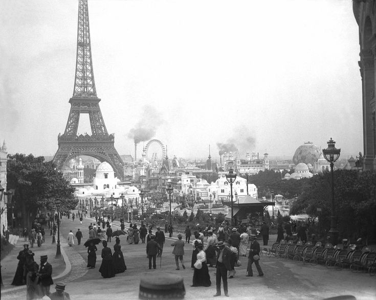 HERE IS WHERE YOU GOT YOUR START E.T.! WELL, ACTUALLY, 10 YEARS EARLIER, BUT...--SLA/Exposition Universelle. Paris 1900