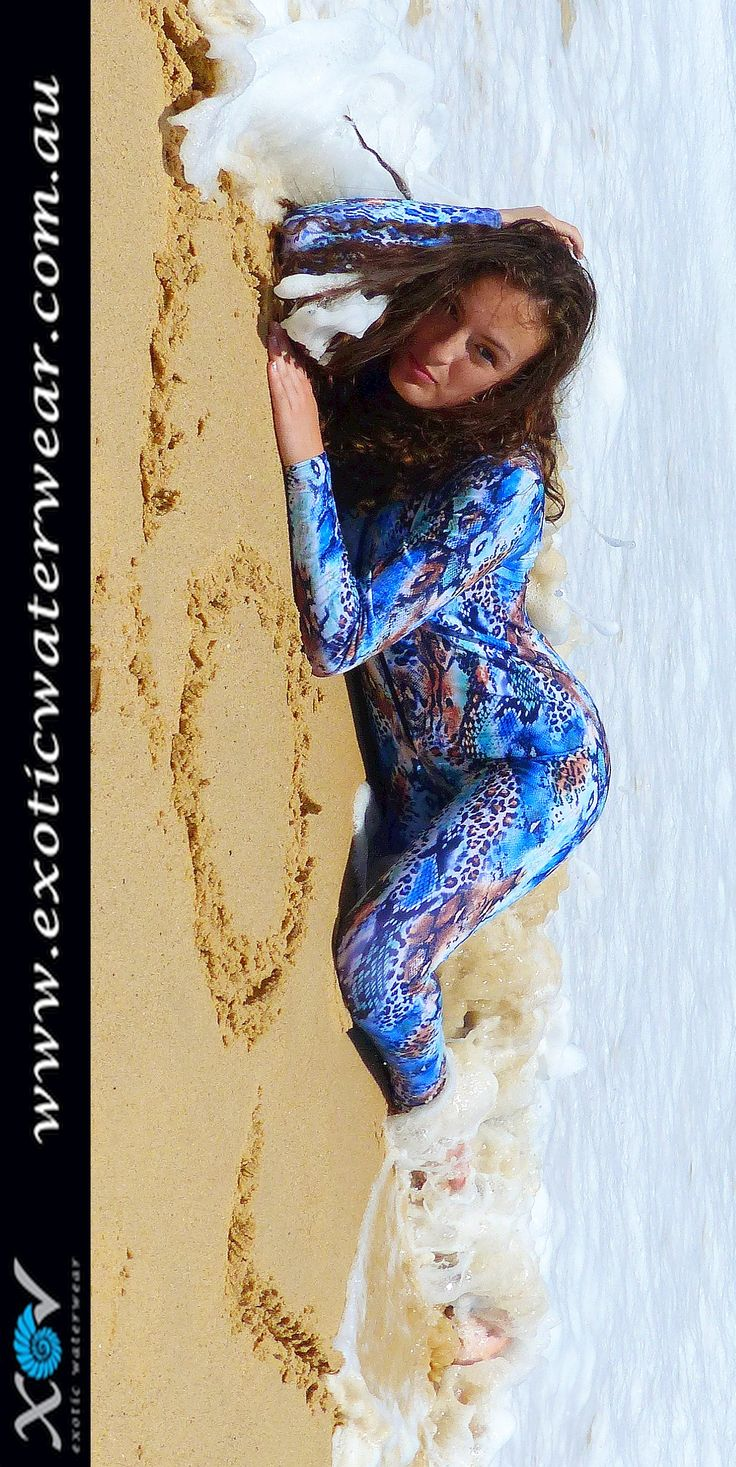 Stingersuits keep those nasty little sea creatures off your beautiful skin....and ours are stylish and UV sunprotection UPF50+ as well!  #stingersuit #sunprotectionswimwear #fullbodyswimwear www.exoticwaterwear.com.au