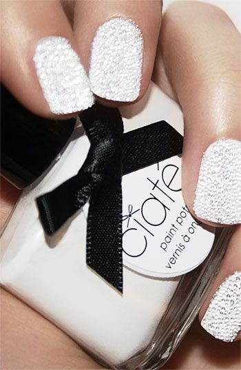 """pearly'' whites. LOVE CAVIAR NAILS. THE MOST POPULAR NAILS AND POLISH #nails #polish #Manicure #stylish"