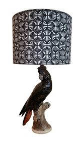 Cockatoo Lamp With Grace Garrett Travellers Palm Shade