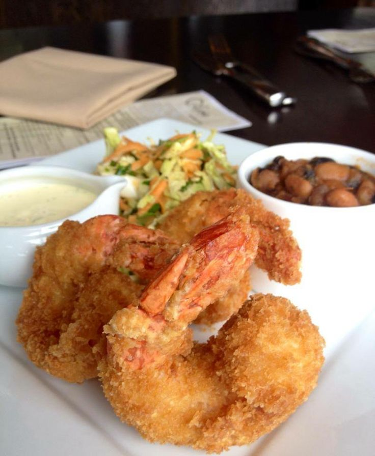 frack your diet' friday special... fried shrimp! served with baked ...