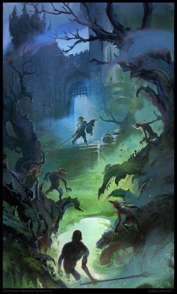 Maxime Desmettre Ubisoft Netease King Kong Concept Artist Conceptroot