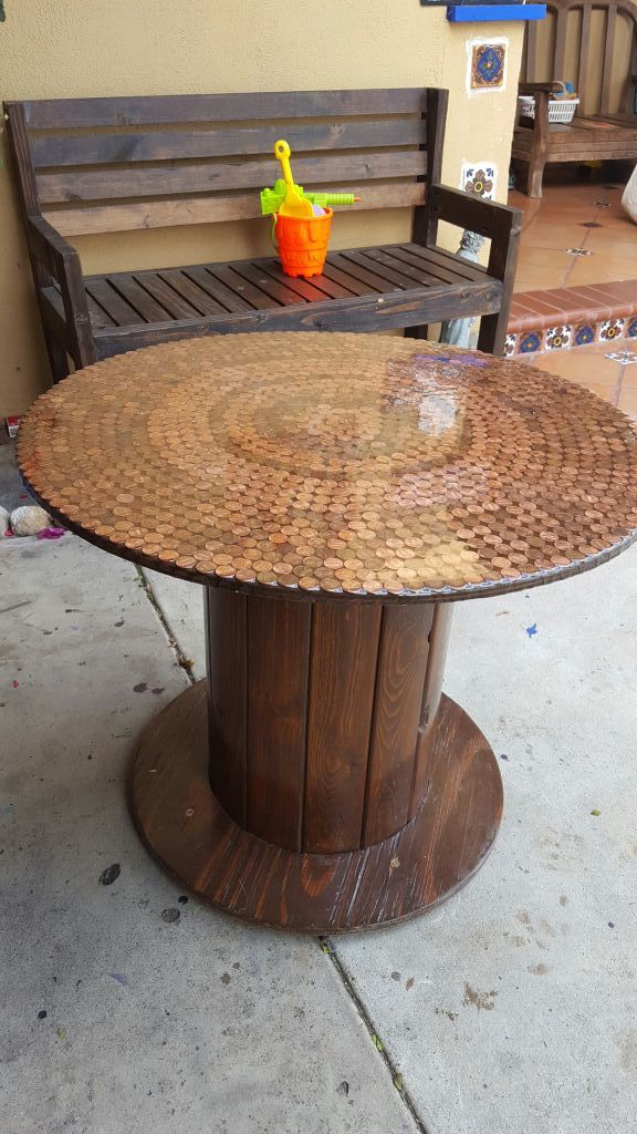 Wood Cable Spool For Sale In Tustin Ca Offerup Cable Spool