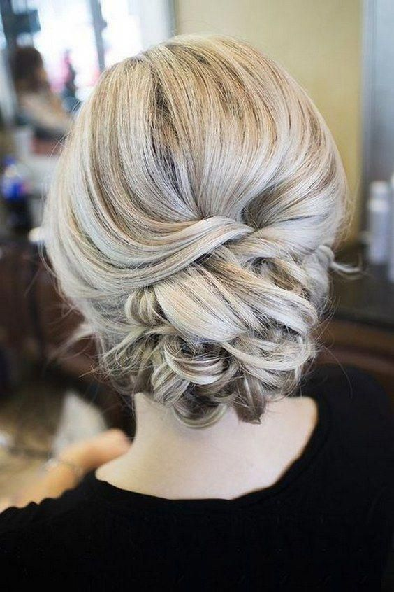 wedding hairstyles from messy wedding updo to half up half down + braid hairstyle + Classy and Elegant Wedding Hairstyles #weddinghairstyles #weddingh...