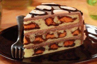 Леопардовый торт рецепт с фото, как приготовить на Shratva.ru