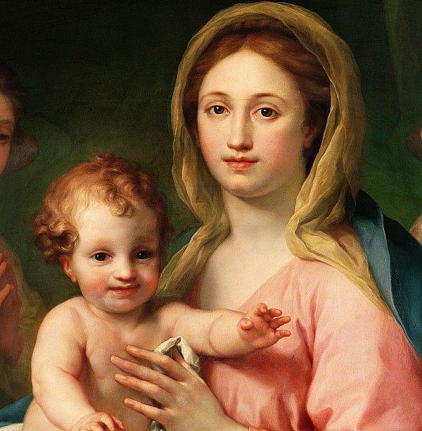 Madonna and Child Anton Raphael (1728-1779)