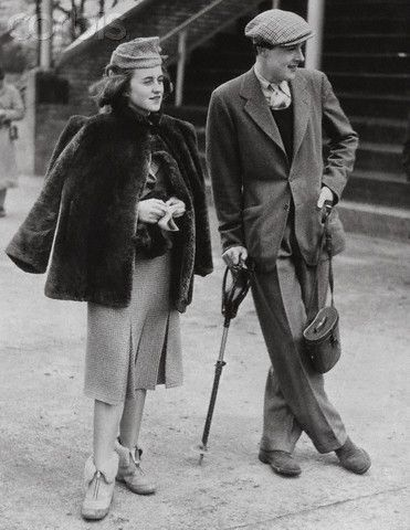 Kathleen Kennedy with William Cavendish, Marquess of Hartington