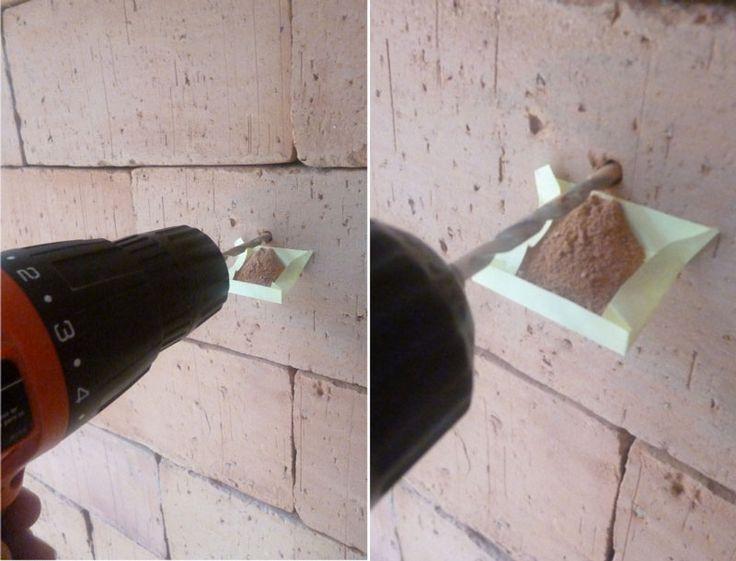 Prateleira rústica   Dicas para furação de paredes
