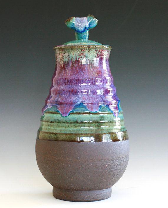 Vase   https://www.etsy.com/listing/102231619/ceramic-vase-with-lid-ceramic-vessel