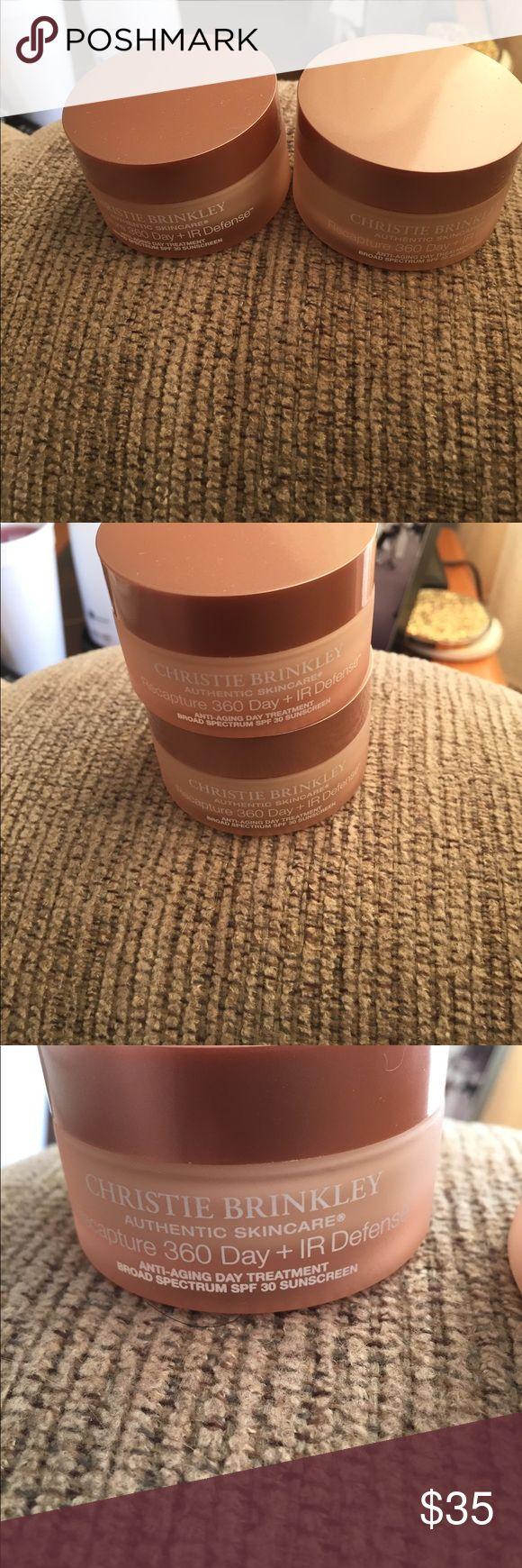 Christie Brinkley Authentic Skincare Christie Brinkley Authentic Skincare. 2 brand new anti-aging day treatment moisturizer christie Brinkley Makeup Face Primer