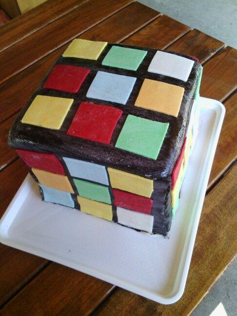 Rubik torta... Rubik cake...