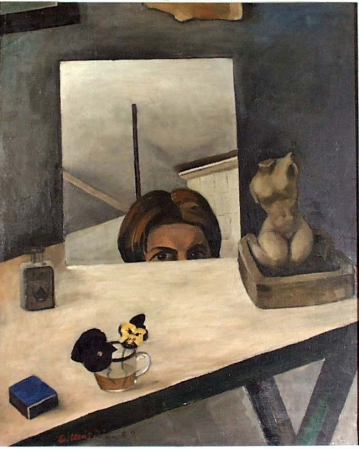 Otto Mäkilä: Self Portrait [1929]