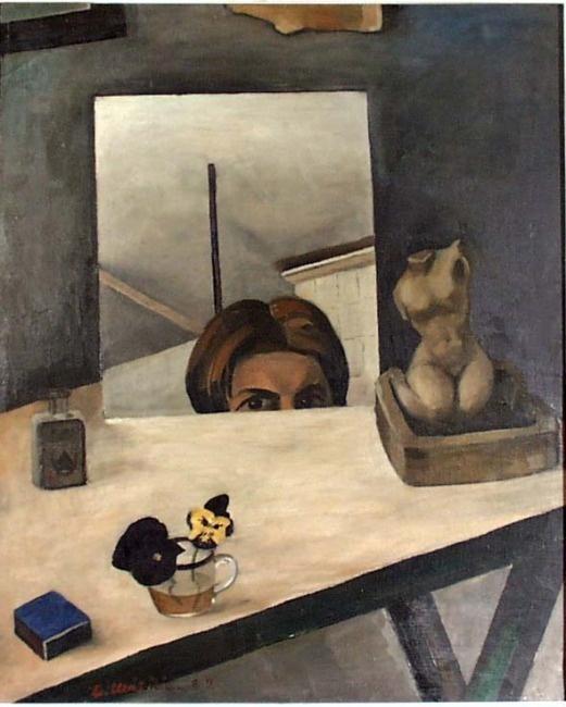 Otto Mäkilä: Self-portrait, 1929.