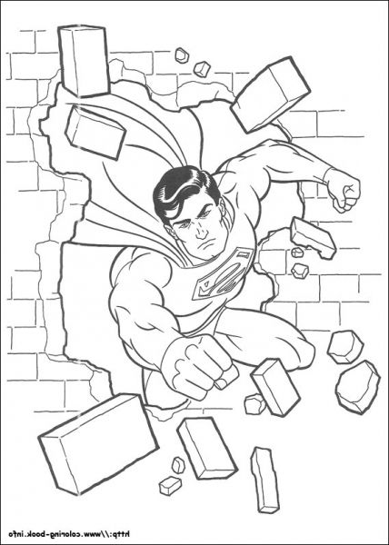 30 best Superman images on Pinterest Coloring books, Superman and - best of baby superman coloring pages