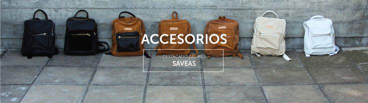 Destacado del mes Agosto 2015: SAVEAS Bolsos y equipajes de cuero argentino inspirados en un estilo de vida urbano.
