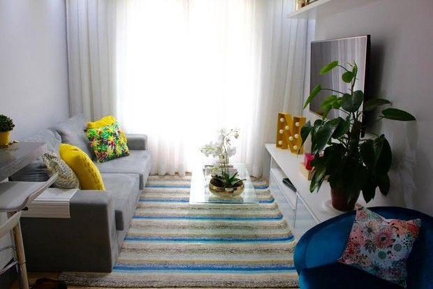 Sala de estar de Nina Santina, do blog Niina Secrets (Foto: Nina Santina / Divulgação)