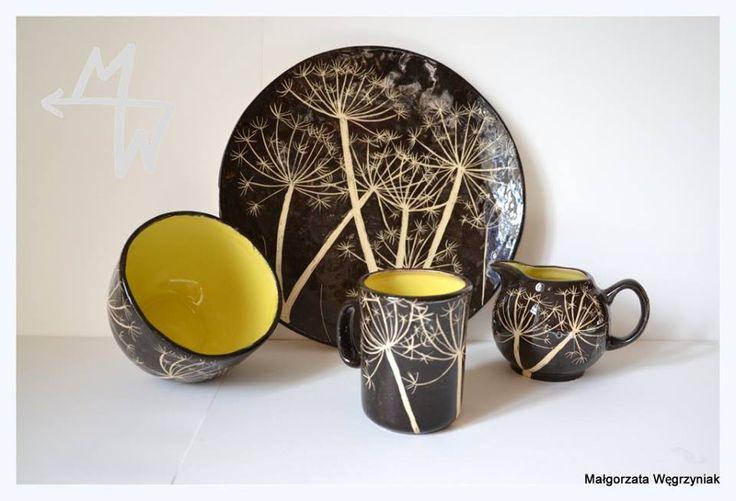 https://www.facebook.com/Malgorzata.E.Wegrzyniak #polandhandmade #MWCeramics #ceramics #pottery #ceramika