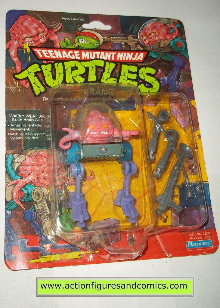 teenage mutant ninja turtles KRANG 1989 14 back vintage playmates toys mib moc mip tmnt