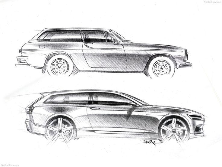 The P1800 ES was responsible for the design of the C30 and now the 2014 Volvo Estate concept. Beautiful car all around!!