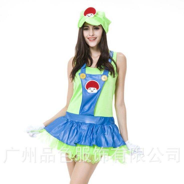 Super mario costume women disfraces carnaval halloween costumes disfraces de halloween para las mujeres cosplay costume dresses Alternative Measures