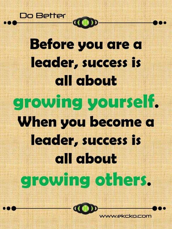 So true!  #leadershipquote  #quote  #ekcko