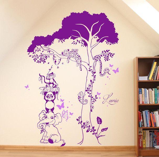22 best Wandtattoo für Kinder images on Pinterest Products - wandsticker babyzimmer nice ideas