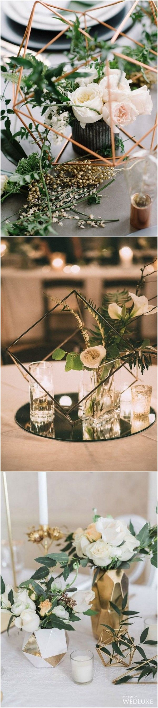 Trending – 20 Industrial Geometric Wedding Centerpieces for 2019 - Page 2 of 2