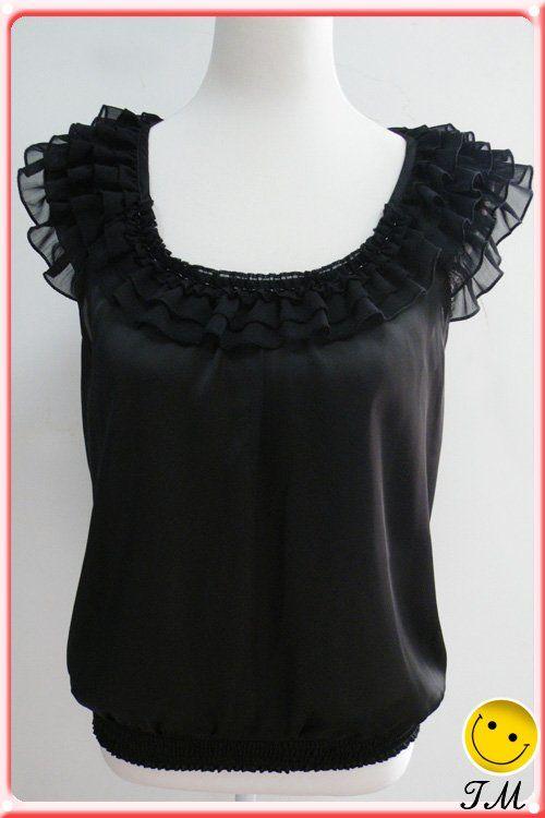 Las señoras blusa de patrones, moda blusas formales, las mujeres blusa de gasa-Blusas Mujer-Identificación del producto:346679323-spanish.al...