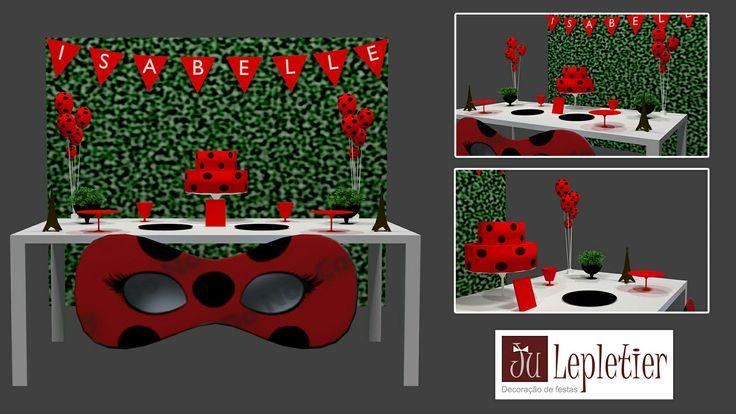 Projeto 3d ladybug