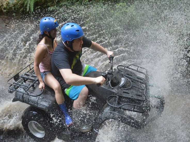 ATV RIDE: Now we are The best, the longest and the most spectacular ATV trek in Bali.ATV Ride provides you a great opportunity to explore and get closer to the beauty of Bali nature and its rural areas. Let's have a fun on ATV ride and give yourself time to be back to the nature. Our trek is absolutely amazing and not monotone ( rice field, plantation, bamboo forest, jungle, river, villages, and picturesque panorama). Do you really want to be back to the nature while pampering your…