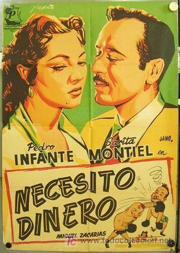 """Necesito Dinero"" staring Pedro Infante & Saritta Montiel"