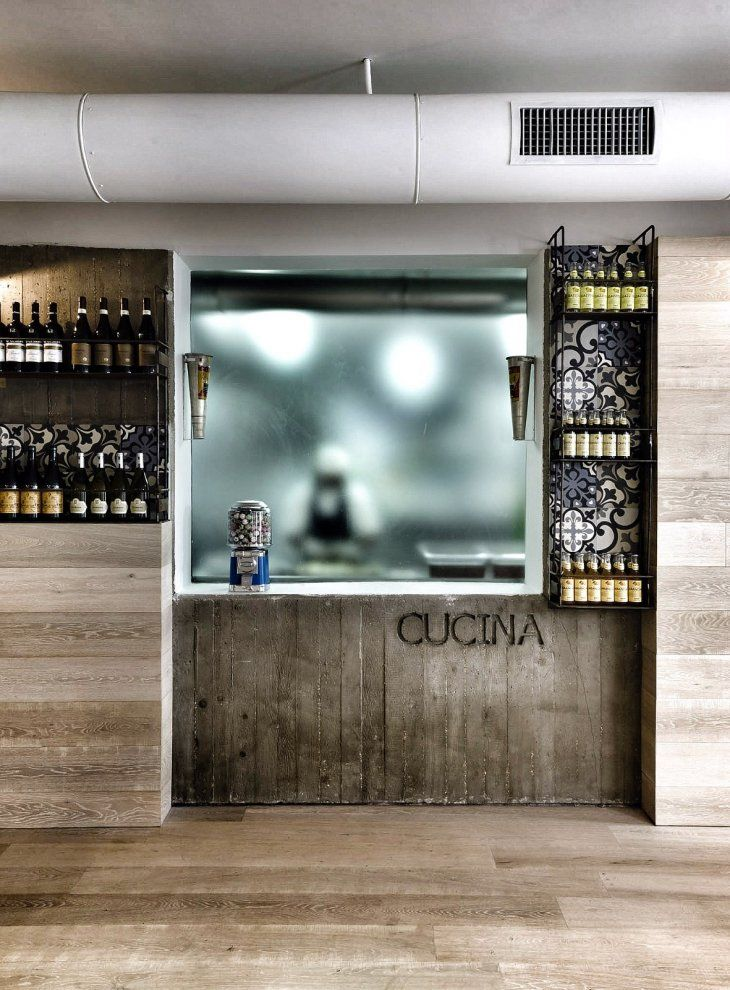 KOOK restaurant, Rome; designed by Noses Architects in 2012 #eatery #interiors