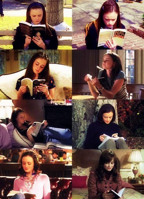 Rory reading - Gilmore Girls