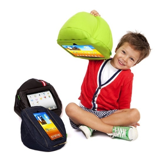 the original tabCoosh... the perfect tablet case for kids, a little mini bean bag that securely holds tablets in place to make learning and playing time on tablets safe and easy for children. www.tabcoosh.com.au