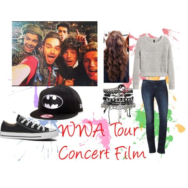 """Outfit I made!! """"WWA Tour Concert Film Outfit"""" by ashlie-scott on Polyvore #1DWWAFilmStyle @1dofficial"""