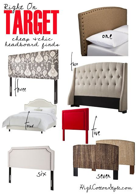 cheap and chic headboards
