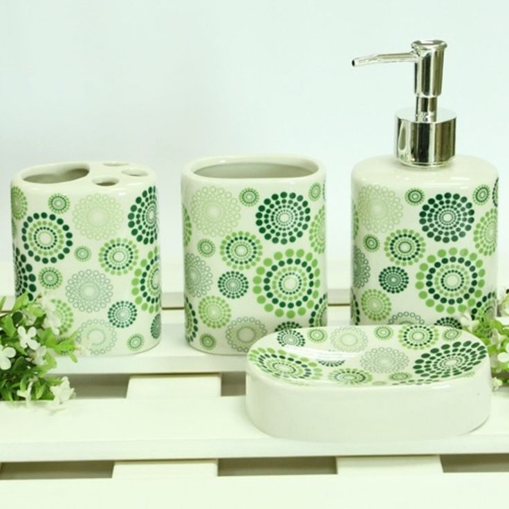 bathroom accessory sets stainless steel green accessories quality uk with shower curtain