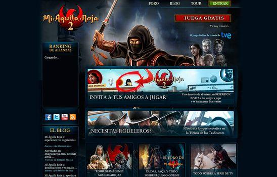 Juego online Free2Play Mi Aguila Roja 2 para Tve.