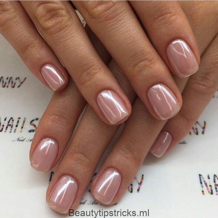 Pink Nacre Nagellack # Nail Ideas #naillak #colors # 2018 #Trends #Autumn – Style