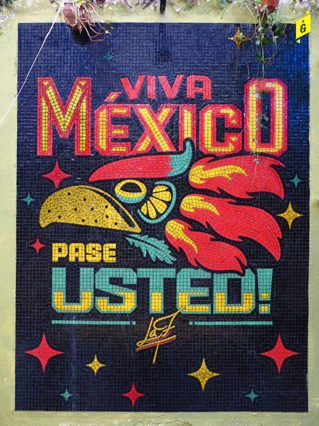 Viva México, taquería.