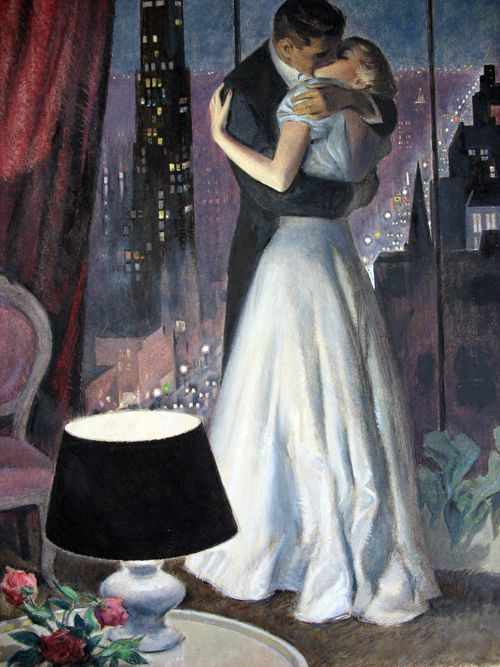 Best 25 vintage romance ideas on pinterest vintage couples this is an example of romance its a couple kisses and in the background is a beautiful scene of a city its a very romantic setting sciox Gallery