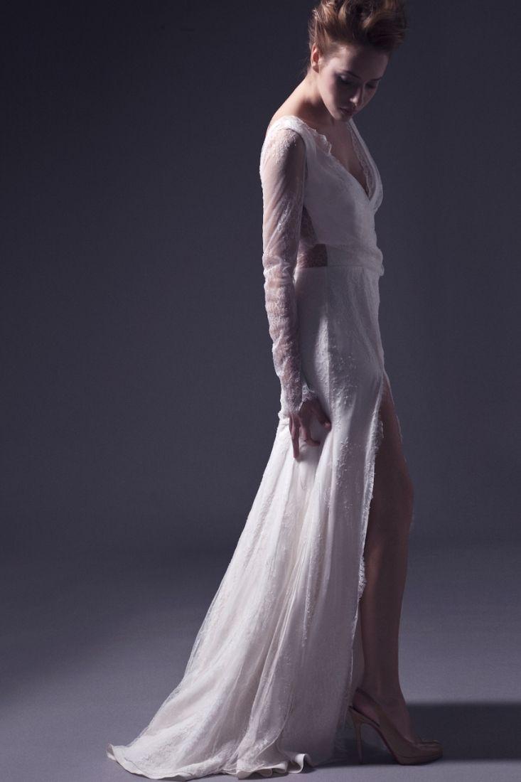 Meryl Suissa robe de mariee sur mesure Paris collection 2015 - La Fiancee du Panda blog mariage-- robe Scarlet