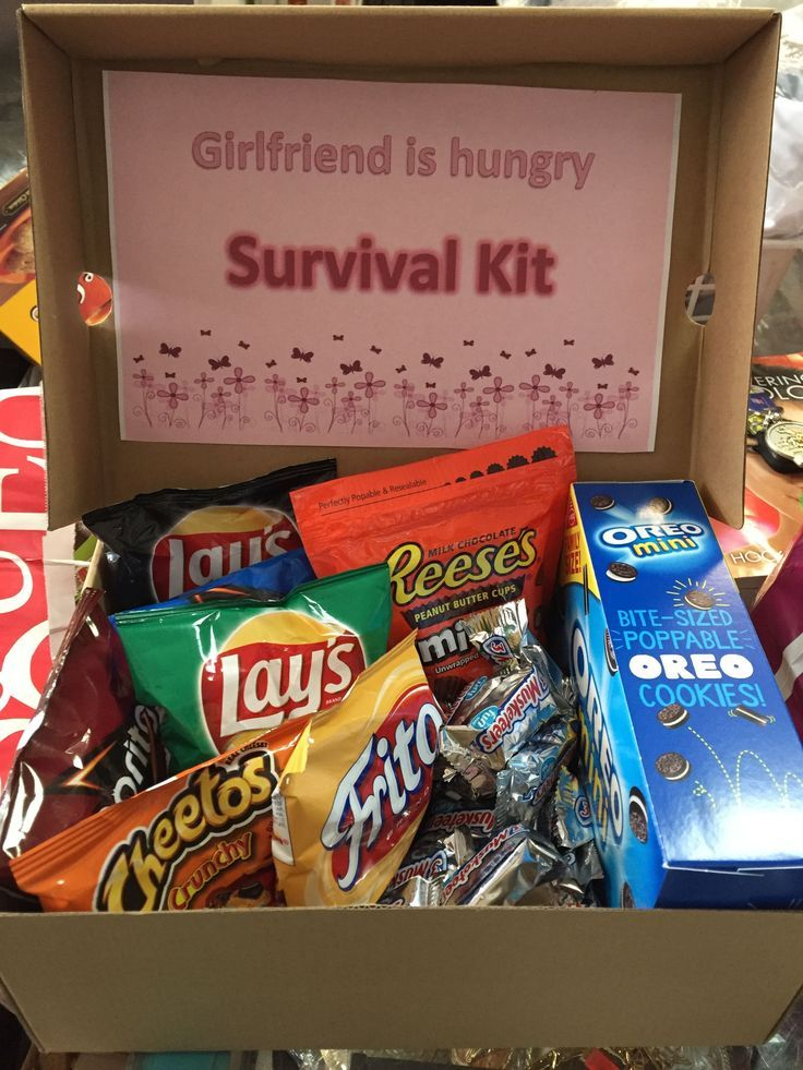 You can keep this girlfriend survival kit in your car for whenever your girlfrie…