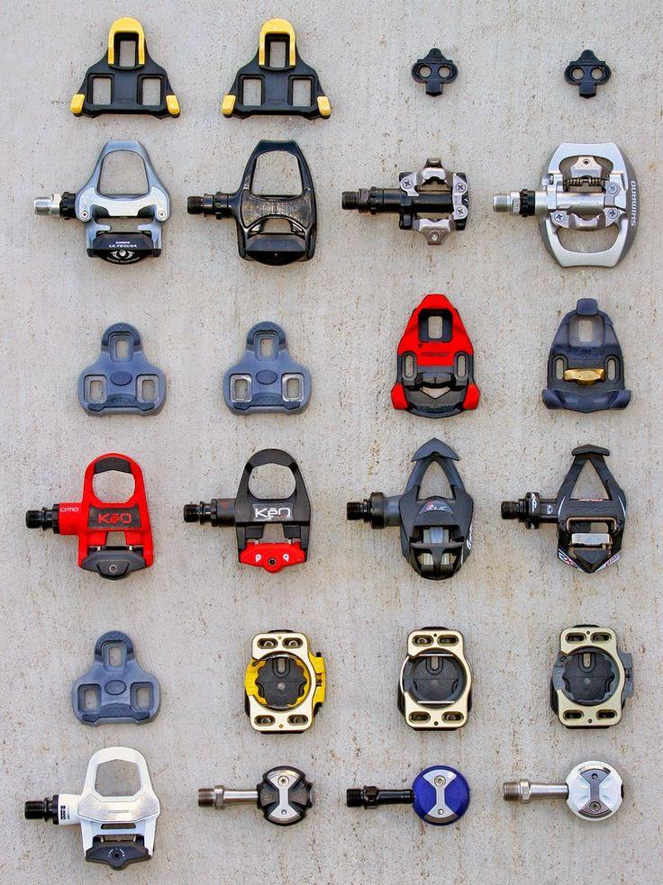 Tipos de pedales y calas para bicicletas Si andas en bici y quieres dar el salto a los pedales automáticos , posiblemente estarás un poco con...