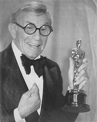 """George Burns wins 1975 Best Supporting Actor for """"The Sunshine Boys"""""""