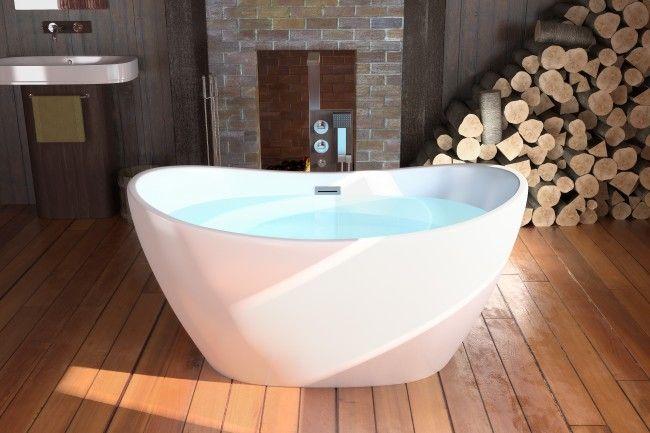 34 best jetta freestanding tubs images on pinterest for Best acrylic bathtubs