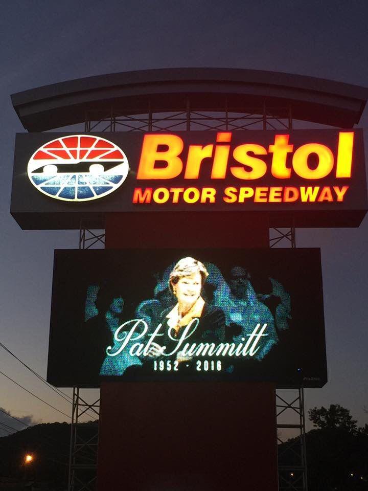 Bristol Motor Speedway in Tennessee.