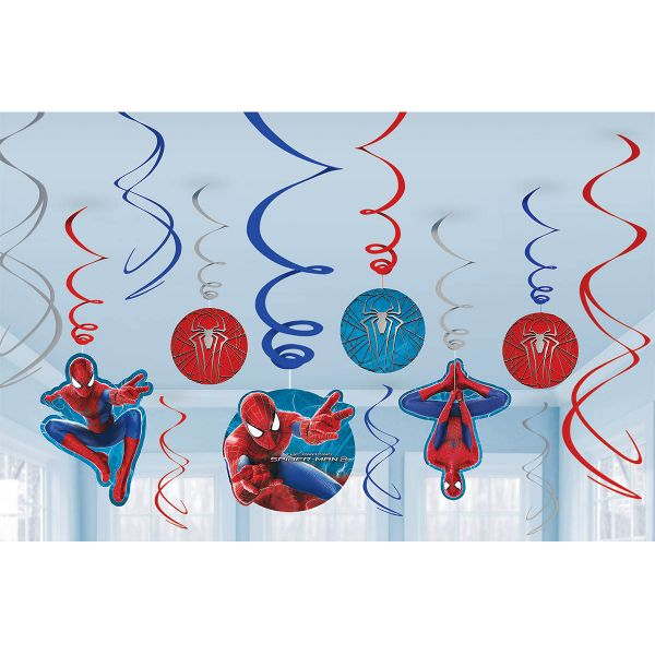 SpiderMan 2 Swirl Value Pack 12pc