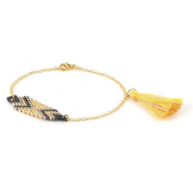 Handmade Tassel Boho Bracelet