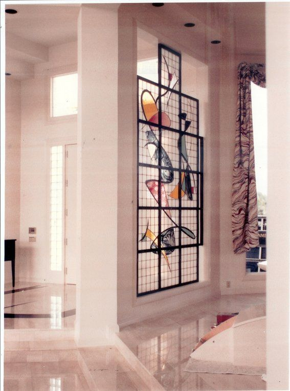 18 Modern Glass House Exterior Designs: 18 Best Modern Stain Glass Images On Pinterest